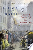 Leipzig After Bach