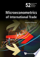 Microeconometrics of International Trade