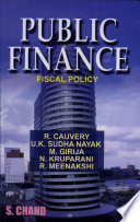Public Finance  Fiscal Policy