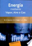 La producci  n de energ  a mediante vapor  aire o gas