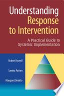 Understanding Response to Intervention