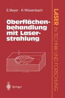 Oberflächenbehandlung mit Laserstrahlung