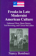 Freaks in Late Modernist American Culture