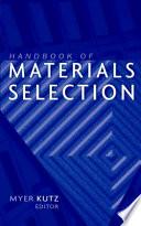 Handbook of Materials Selection