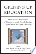 illustration Opening Up Education, The Collective Advancement of Education Through Open Technology, Open Content, and Open Knowledge