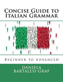 Concise Guide to Italian Grammar