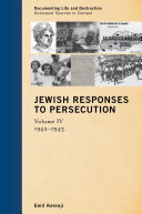 download ebook jewish responses to persecution pdf epub