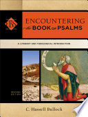 Encountering the Book of Psalms  Encountering Biblical Studies