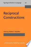 Reciprocal Constructions