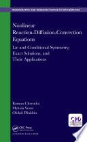 Nonlinear Reaction Diffusion Convection Equations