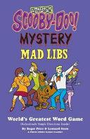 Scooby Doo Mystery Mad Libs