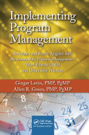 Implementing Program Management