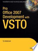 Pro Office 2007 Development with VSTO