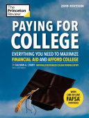 Paying for College, 2019 Edition