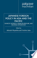 Japanese Foreign Policy In Asia And The Pacific