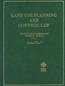 Land Use Planning and Control Law