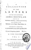 A Collection of Letters of     James Hervey