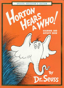 Horton Hears a Who Coloring and Activity Book