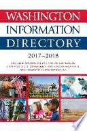 Washington Information Directory 2017 2018