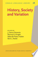 History, Society and Variation
