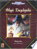 The Magic Encyclopedia Advanced Dungeons   Dragons  Vol 1 2nd Edition  TSR Inc