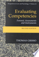 Evaluating Competencies : review of what happened to the...