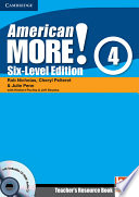 American More  Six Level Edition Level 4 Teacher s Resource Book with Testbuilder CD ROM Audio CD