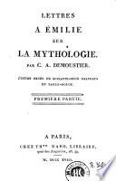 Lettres a Émilie sur la mythologie