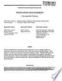 Appalachian Mountains  Vegetation Management