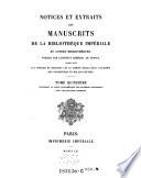 Sachtit. wechselt anfangs leicht: 1-3: ... Bibliothèque du Roi ... ; 4-6: ... Bibliothèque Nationale ... ; 8-9 ... Bibliothèque Impériale ... ; 11-14: ... Bibliothèque du Roi ... ; 15,1: ... Bibliothèque Nationale ... ; 15,2-21: ... Bibliothèque Impériale ...