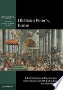 Old Saint Peter s  Rome