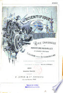 La vie scientifique
