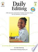 Daily Editing  Grade 3