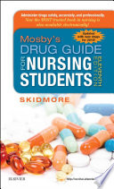 Mosby S Drug Guide For Nursing Students With 2016 Update