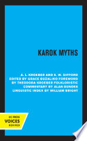 Karok Myths Book PDF