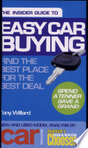 Insider Guide To Easy Car Buying Spend A Tenner Save A Grand
