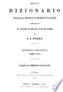 *Nuovo dizionario italiano-tedesco e tedesco-italiano composito sui migliori vocabolarii delle due lingue
