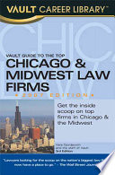 Vault Guide to the Top Chicago   Midwest Law Firms  2007