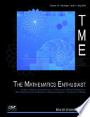 The Mathematics Enthusiast   Issue