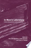 In Marx s Laboratory
