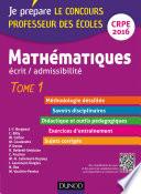 Mathématiques. Professeur des écoles