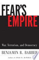 Fear s Empire  War  Terrorism  and Democracy