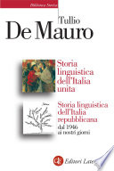 Storia linguistica dell Italia unita   Storia linguistica dell Italia Repubblicana