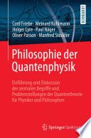 Philosophie Der Quantenphysik book