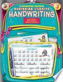 Beginning Cursive Handwriting  Grade 3
