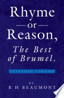 Rhyme or Reason, The Best of Brumel