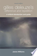 Gilles Deleuze s Difference and Repetition  A Critical Introduction and Guide