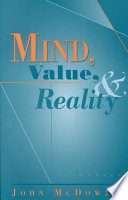 Mind  Value  and Reality
