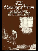 The Opening of Vision