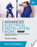 Advanced Electrical Installation Work 2365 Edition : edition iet wiring regulations amendments, this...